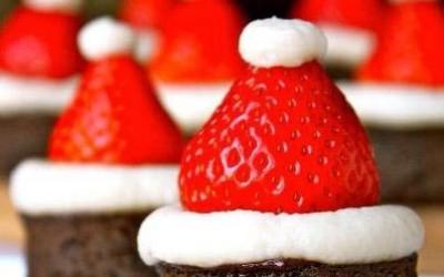 Brownie-Navidad